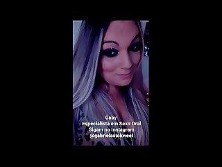 Delirando no sexo oral sigam no instagram gabrielastokweel agende seu horrio comigo pelo whats 11964
