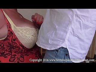 Aunty shirley cumshot and swallow