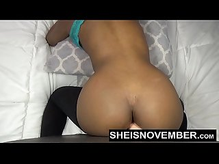 Anal Fucking Webcam Show Big Butt Black Girl Fuck Big Mounted Dildo Cock by Msnovember Sheisnovember