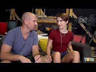 YNGR - Teen Nataly Porkman Doing Her First Porn Shoot
