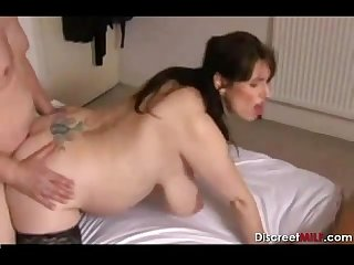 Horny pregnant british mature