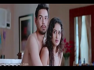 Tridha choudhury topless kissing scene from khawto