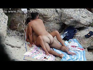 Spying couple fucking hidden at the beach www voyeurgirlsoncam com