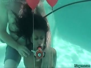 Drea morgan under water tied up
