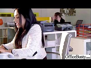Sex in office with nasty wild busty worker girl Vid 07