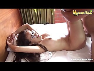 MAMACITAZ - Latina Jenifer Valencia Gets Picked Up And Good Fucked