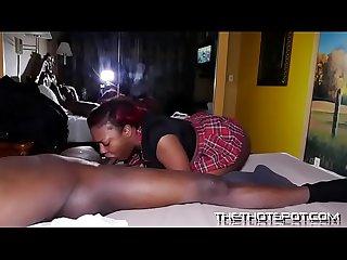 Ebony lashay getting dick down good