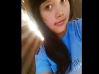 The girl of indonesia