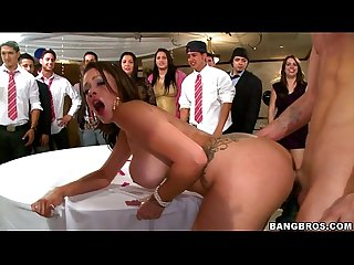 BANGBROS - Pornstars crash the college party fuckfest