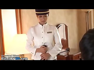 Japanese maid satisfies her boss more at elitejavhd com