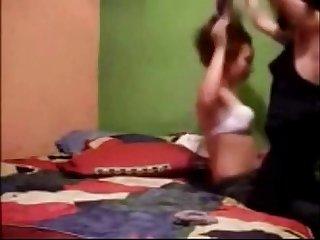 Lesbianas latinas en motel parte1