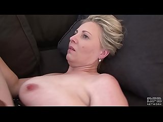 Boobs cum mature horny