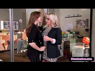 Hot and Mean Lesbian Porn - Disciplinary Action Part One with Julia Ann & Olivia Austin 01