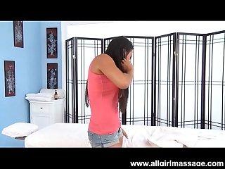 Big tit asian adrianna luna lesbian massage