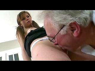Teacher forcing himself on hottie