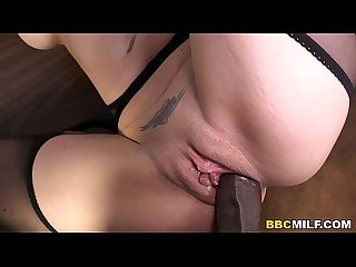 Anal cougar Kiki daire gets dp d by black cocks