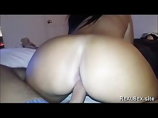 She knows how to ride my dick in reverse cowgirl