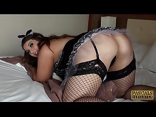 PASCALSSUBSLUTS - Busty maid Lucy Lane ripped by dom cock