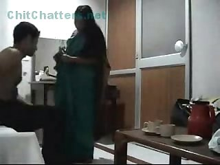 Newly married indian couple have great time together recorded on hidden camera
