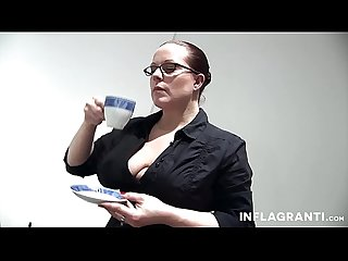 Strict Busty Redhead German Teacher
