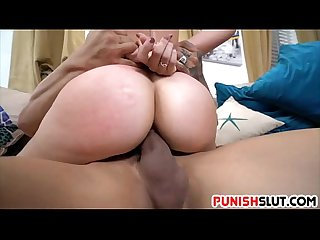 Short haired Teen makenna blue is fucked by pulsating meat