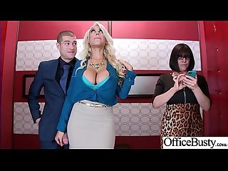 Sex Scene In Office With Slut Hot Busty Girl (Bridgette B) video-03