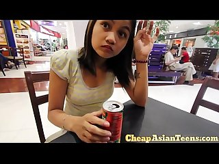 Money talks - Picking up Filipina from a shopping mall - CheapAsianTeens.com