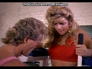 Angela summers randy west in sporty chick of porno 1970 gives bj in the gym