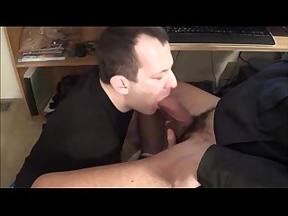 Str8 guy feeds me his load