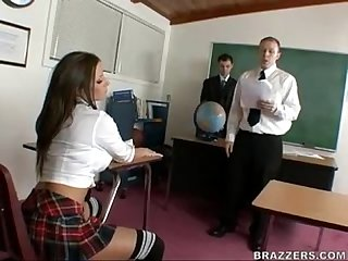 Rachel Roxxx as a sexy school girl