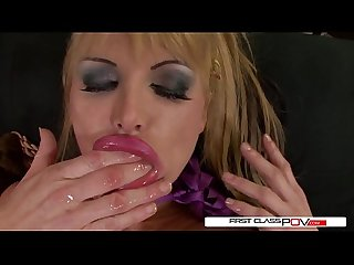 Taylor Wane takes a giant cock inside her tight wet hole in every position