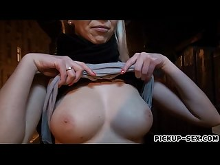 Czech babe karol lilien banged for money