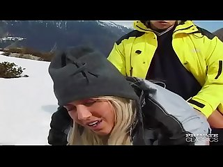 Sharon Bright Fucks on the Snow