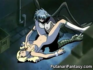 Evil futanari creatures