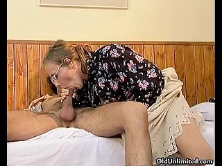 Nasty mature woman getting