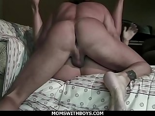 Big Tit And Fat Ass Blonde MILF Gets Doggystyle Fucked
