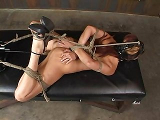 Satine phoenix perfect slave hogtied and fucked 02 25 2007