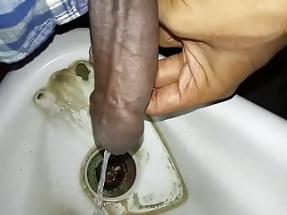 Indian young boy piss new
