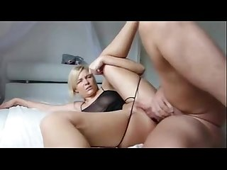 Watch this curvy blonde mature mil fucked hard in the ass on cam - Lady-Cams.com