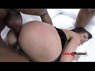 Kitana lure double Anal with 3 massive black cocks Interracial dap sz1033