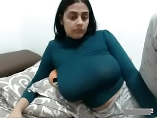 Sexy Indian Wife big boobs milf Show on Webcam www period thesluttycams period com