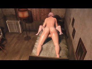 Trans Step Mom fucks Son - Transsexual fucks guy in Ass and Mouth | 3D Futanari Family Stories
