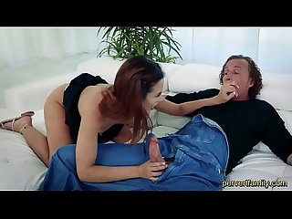 Pervertfamily horny daughter fucked by dad on father s day