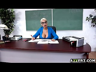 Busty prof bridgette fucks with student alex