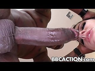 Tori lux tries a really big black cock