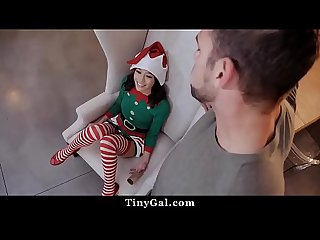 Jasmine Grey Is A Sexy, Tiny, Slutty Cum Elf