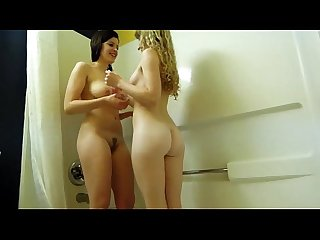 Hot babes in shower - hotcamjizz.com