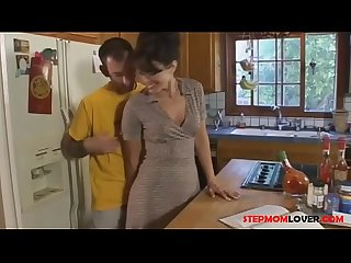 Stepmom seduces stepson 24
