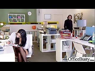 Hard Sex With Busty Slut Office Worker Girl (audrey bitoni) video-04