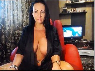 SoFuckingsexy Black Gown bigtit webcam milf